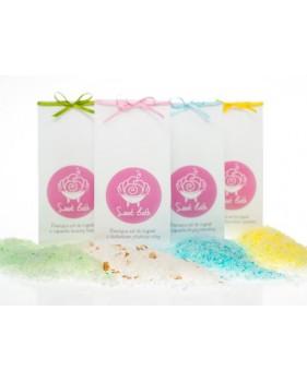 SWEET BATH Pieniąca sól do kąpieli o zapachu świeżej bazylii