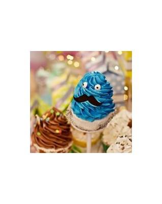 SWEET BATH Kakaowa Psota - muffinka kąpielowa 2w1