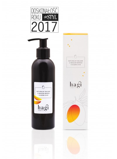HAGI Naturalny balsam z masłem mango i olejem chia