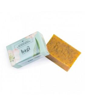 HAGI Naturalne mydło z peelingiem makowym