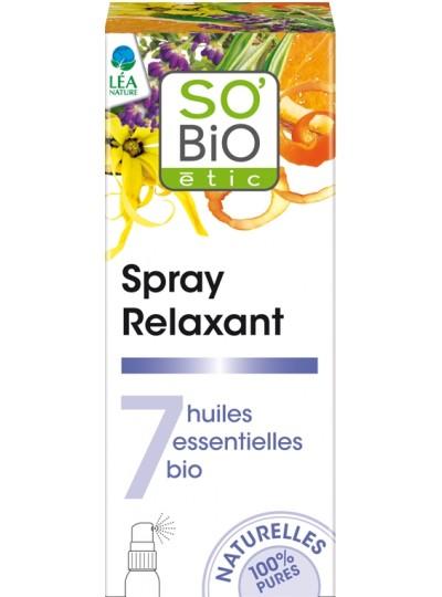 SO'BiO étic Spray relaksujący - bio olejki eteryczne