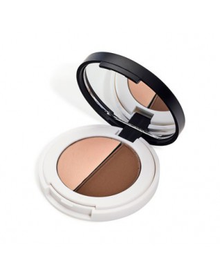 Lily Lolo Eyebrow Duo - zestaw do brwi LIGHT - cień + wosk