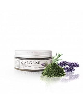 Peeling cukrowy do ciała z algami Fresh&Natural