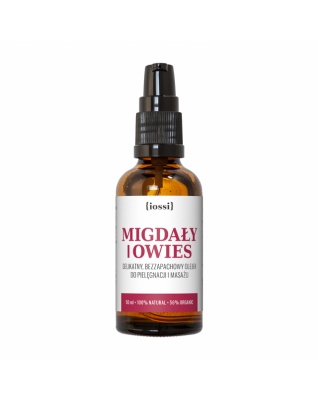 LIPIDY OWSIANE + MIGDAŁY - delikatny olejek przeciw rozstępom w ciąży IOSSI
