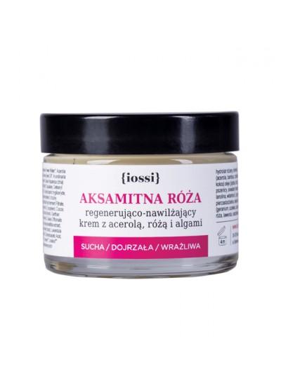 IOSSI Aksamitna Róża- krem regenerująco - nawilżający