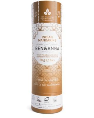 Naturalny dezodorant na bazie sody INDIAN MANDARINE, bez aluminium - BEN&ANNA