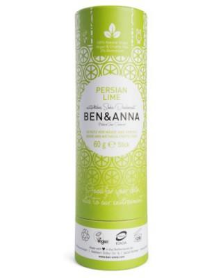 Naturalny dezodorant na bazie sody PERSIAN LIME, bez aluminium - BEN&ANNA