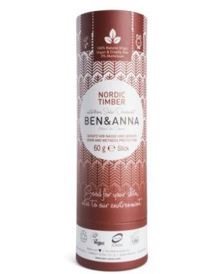 Naturalny dezodorant na bazie sody NORDIC TIMBER, bez aluminium - BEN&ANNA
