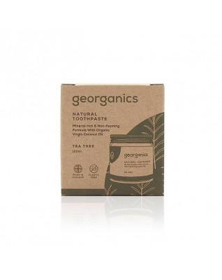 Naturalna pasta do zębów DRZEWO HERBACIANE, mineralna, GEORGANICS