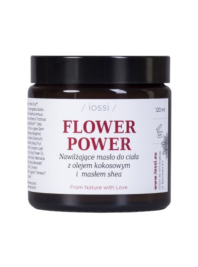 Nawilżające masło do ciała IOSSI FLOWER POWER