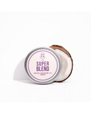 Masło do ciała Super Blend - Masło Shea, Masło Kakaowe, Olej Kokosowy Cztery Szpaki