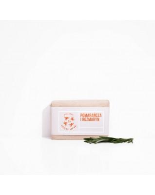 Naturalne mydło Pomarańcza i Rozmaryn Cztery Szpaki