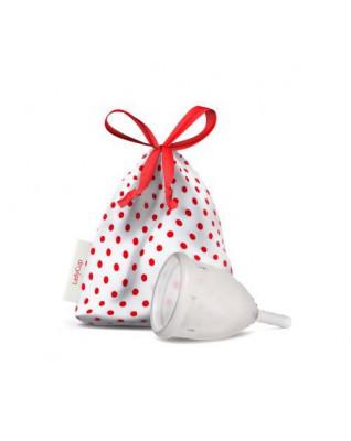 Kubeczek menstruacyjny transparentny, rozmiar S, Lady Cup