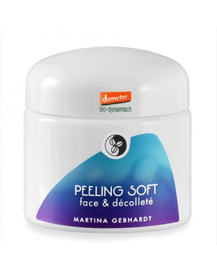 PEELING SOFT Peeling drobnoziarnisty do twarzy i dekoltu Martina Gebhardt