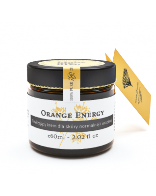 Orange Energy nawilżający krem do skóry normalnej i mieszanej Make Me Bio