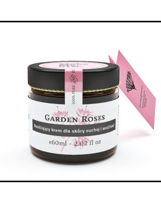 Garden Roses nawilżający krem do skóry suchej i wrażliwej Make Me Bio