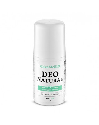 DEO NATURAL naturalny dezodorant ROLL ON bez aluminium Make Me Bio