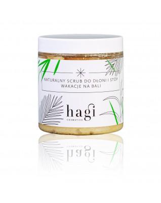 Naturalny scrub do dłoni i stóp z roślinną lanoliną HAGI 330 ml