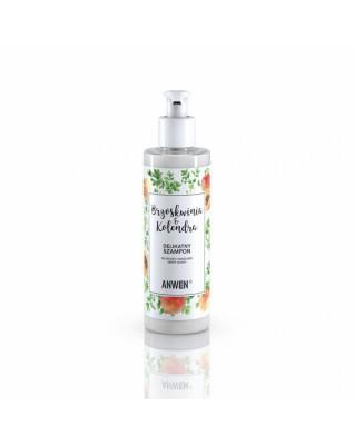 Brzoskwinia i kolendra szampon do suchej i wrażliwej skóry głowy 200ml ANWEN
