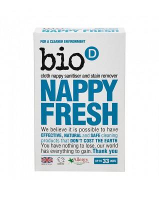 NAPPY FRESH antybakteryjny, naturalny dodatek do prania pieluszek BIO D