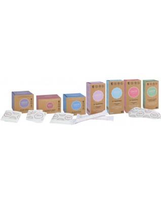 Tampony bez aplikatora Normal 18 szt. certyfikowane, 100% organic, Ginger Organic