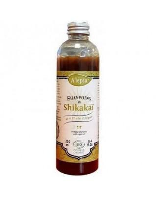 Organiczny szampon arganowy z Shikakai 250ml ALEPIA