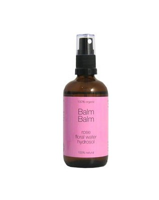 BALM BALM organiczna woda kwiatowa z róży - aromatyczna i delikatna dla Twojej skóry