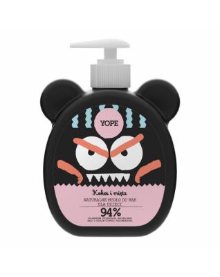 Kokos i mięta  Naturalne mydło do rąk dla dzieci 400ml YOPE