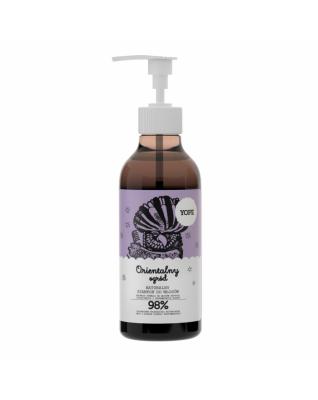 Orientalny ogród Naturalny szampon do włosów suchych, zniszczonych i pozbawionych blasku 300ml YOPE