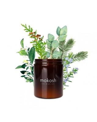 Roślinna świeca sojowa Jodłowy Bór MOKOSH