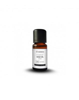 Esencja z szałwi 100%, olejek naturalny, WYSOKA JAKOŚĆ, 15ml, Shamasa