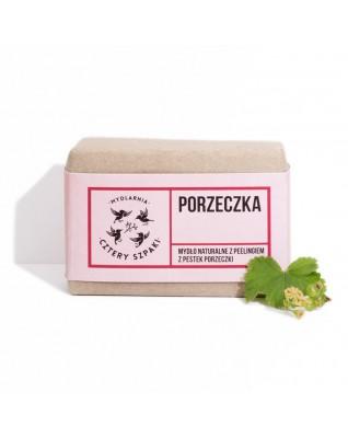 Porzeczka - naturalne mydło peelingujące z pestkami porzeczki Cztery Szpaki