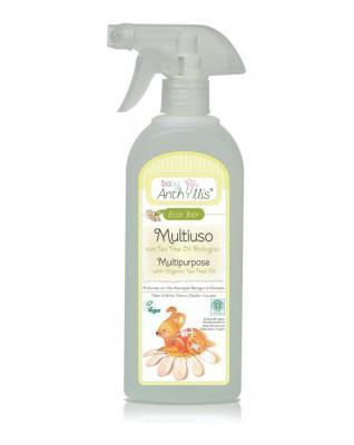 Płyn do czyszczenia powierzchni mających kontakt z dzieckiem z dodatkiem olejku z drzewa herbacianego 500 ml Baby Anthyllis