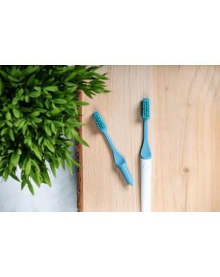Szczoteczka do zębów z wymienną końcówką, LODOWIEC, włosie ŚREDNIE, 100% składników roślinnych, ZERO WASTE, 1szt., TIO