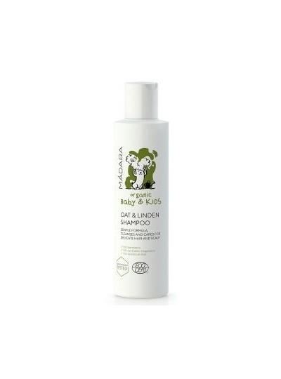 MADARA ORGANIC BABY & KIDS delikatny szampon dla niemowląt i dzieci