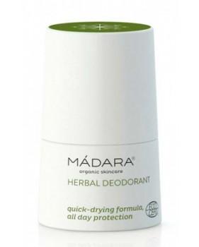 MADARA HERBAL DEODORANT dezodorant ziołowy z różą, nagietkiem, rumiankiem, szałwią i miętą