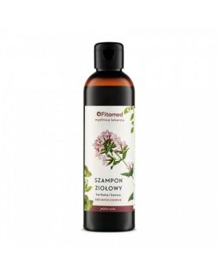 Szampon ziołowy Herbata i henna - odcienie ciemne 250 ml FITOMED