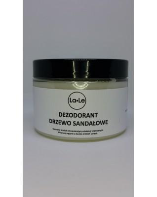 Dezodorant ekologiczny w kremie  drzewo sandałowe 120 ml w szkle La-Le