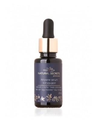 Aktywne serum korygujące 20ml Natural Secrets
