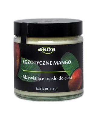 Egzotyczne mango - masło do ciała 120 ml ASOA
