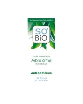 SO'BIO etic olejek eteryczny drzewo herbaciane - antybakteryjny
