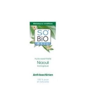 SO'BIO etic olejek eteryczny NIAOULI BIO - antybakteryjny i antyseptyczny