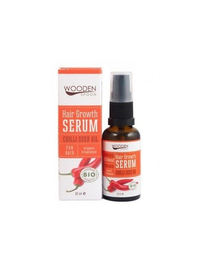 WOODEN SPOON serum z drogocennymi olejkami na porost i przeciw wypadaniu włosów