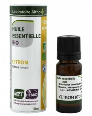 ALTHO Organiczny olejek eteryczny CYTRYNA