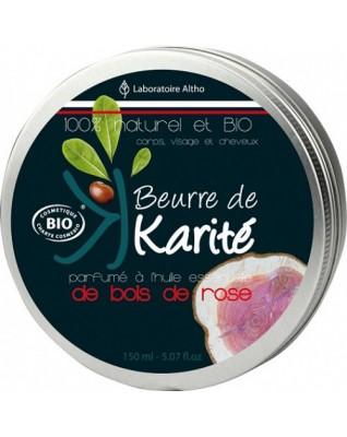 ALTHO Organiczne masło do ciała KARITE (Drzewo różane)