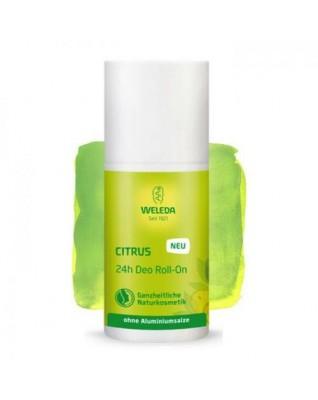 WELEDA Dezodorant cytrusowy ROLL ON 24h ochrony
