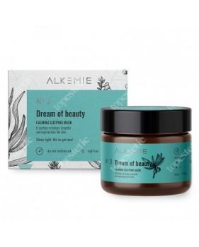 ALKEMIE Dream of beauty Wyciszająca nocna maska - krem