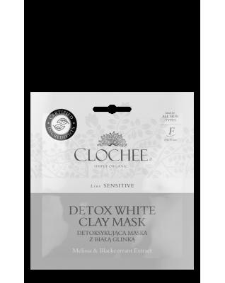 CLOCHEE Detoksykująca maseczka z białą glinką