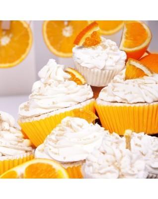 SWEET BATH Soczysta pomarańcza- duża, podzielna muffinka kąpielowa 2w1