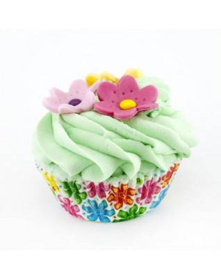 SWEET BATH Łąka kwiatów - muffinka kąpielowa 2w1